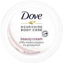 Fragrances, Perfumes, Cosmetics Nourishing Face and Body Cream - Dove Body Care