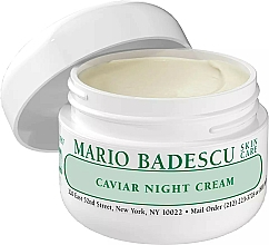 Fragrances, Perfumes, Cosmetics Caviar Night Face Cream - Mario Badescu Caviar Night Cream