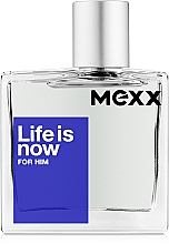 Fragrances, Perfumes, Cosmetics Mexx Life is Now for Him - Eau de Toilette