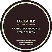 Fragrances, Perfumes, Cosmetics Anti-Cellulite Cambodian Garcinia Body Cream - Ecolatier Cambodian Garcinia Body Cream