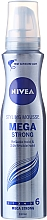 "Fragrances, Perfumes, Cosmetics Hair Mousse ""Mega Strong"" - Nivea Hair Care Mega Strong Mousse"