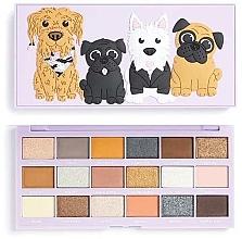 Fragrances, Perfumes, Cosmetics Eyeshadow Palette, 18 Shades - I Heart Revolution Revo-Pooches Eyeshadow Palette
