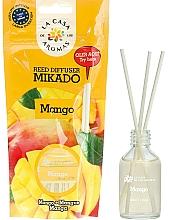 """Fragrances, Perfumes, Cosmetics Reed Diffuser """"Mango"""" - La Casa de Los Aromas Mikado Reed Diffuser"""
