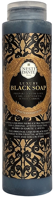 "Liquid Soap ""Luxury Black"" - Nesti Dante Luxury Black Soap"