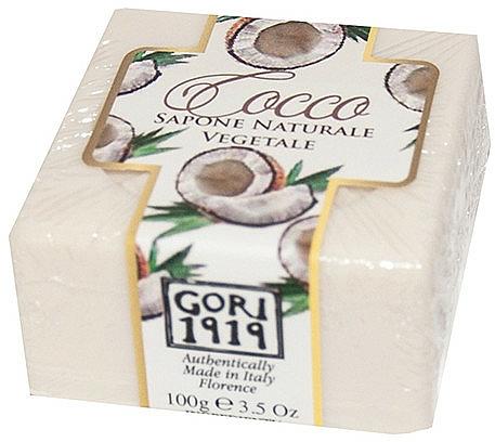 Coconut Soap - Gori 1919 Coconut Natural Vegetable Soap — photo N1