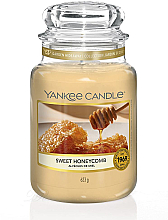 Fragrances, Perfumes, Cosmetics Scented Candle in Jar - Yankee Candle Sweet Honeycomb