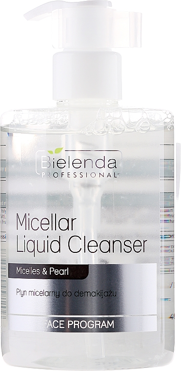 Makeup Removing Micellar Liquid Cleanser - Bielenda Professional Face Program Micellar Liquid Cleanser — photo N1
