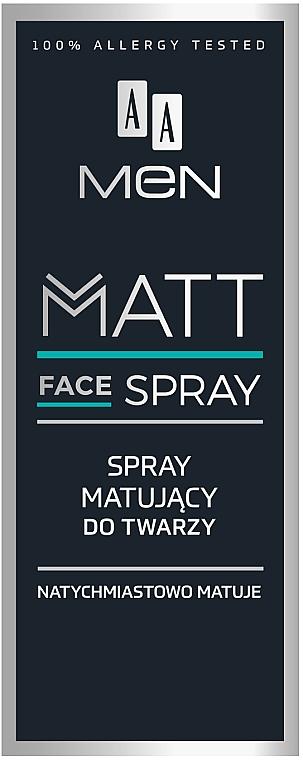 Mattifying Face Spray for Men - AA Men Matt Face Spray