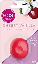 "Fragrances, Perfumes, Cosmetics Lip Balm ""Vanilla Cherry"" - EOS Cherry Vanilla Sphere Lip Balm"