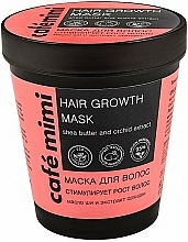 "Fragrances, Perfumes, Cosmetics Hair Mask ""Hair Growth Stimulating"" - Cafe Mimi Mask"