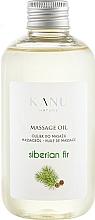 "Fragrances, Perfumes, Cosmetics Massage Oil ""Siberian Fir"" - Kanu Nature Siberian Fir Massage Oil"