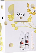 Fragrances, Perfumes, Cosmetics Set - Dove Relaxing Care Gift Set (sh/gel/250ml+deo/spray150ml)