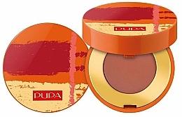 Fragrances, Perfumes, Cosmetics Compact Matte Eyeshadow - Pupa Summer Escape Intense Shadow