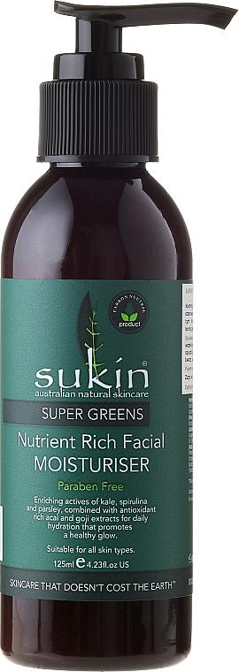 Facial Moisturiser - Sukin Super Greens Facial Moisturiser