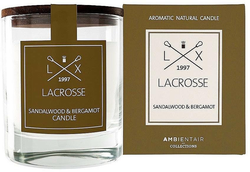 Scented Candle - Ambientair Lacrosse Sandalwood & Bergamot Candle — photo N1