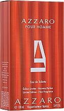 Fragrances, Perfumes, Cosmetics Azzaro Pour Homme Limited Edition - Eau de Toilette