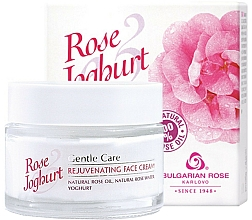 Fragrances, Perfumes, Cosmetics Rejuvenating Face Cream - Bulgarian Rose Rose & Joghurt Rejuvenating Face Cream