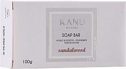 "Fragrances, Perfumes, Cosmetics Hand & Body Soap Bar ""Sandalwood"" - Kanu Nature Soap Bar Sandalwood"
