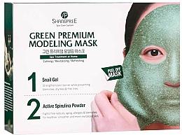 Fragrances, Perfumes, Cosmetics Face Mask - Shangpree Green Premium Modeling Mask