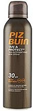Fragrances, Perfumes, Cosmetics Tan Protect Sun Spray - Piz Buin Tan&Protect Tan Intensifying Sun Spray SPF30