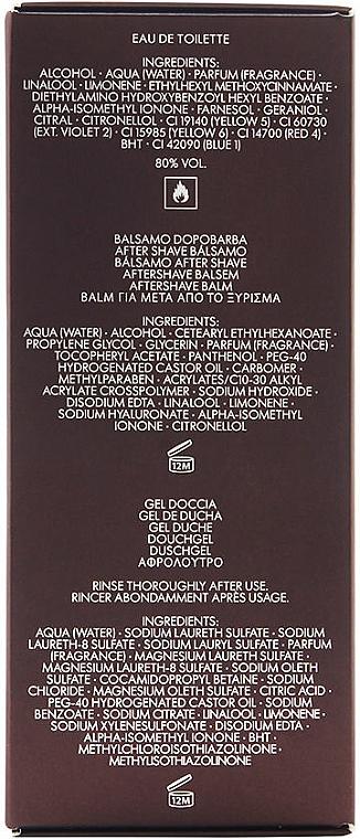 Dolce & Gabbana The One for Men - Set (edt 100ml + a/sh balm 50ml + sh/gel 50ml) — photo N2