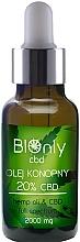 Fragrances, Perfumes, Cosmetics Hemp Oil CBD 20% - BIOnly