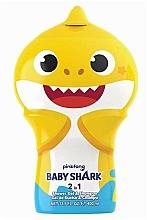 Fragrances, Perfumes, Cosmetics 2-in-1 Shower Gel-Shampoo - Air-Val International Baby Shark Shower Gel & Shampoo 2D
