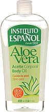 """Fragrances, Perfumes, Cosmetics Body Oil """"Aloe Vera"""" - Instituto Espanol Aloe Vera Body Oil"""