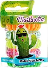 "Fragrances, Perfumes, Cosmetics Hair Ties ""Cactus"", 5 pcs - Martinelia"