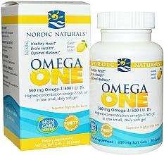 "Fragrances, Perfumes, Cosmetics Dietary Supplement with Lemon Taste ""Omega One"" - Nordic Naturals Omega One Lemon Flavor"