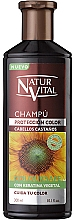 Fragrances, Perfumes, Cosmetics Color Protection Shampoo - Natur Vital Coloursafe Henna Colour Shampoo Chestnut Hair