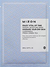 Fragrances, Perfumes, Cosmetics Moisturizing Facial Sheet Mask - Mizon Enjoy Vital-Up Time Watery Moisture Mask