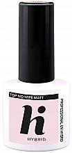 Fragrances, Perfumes, Cosmetics Nail Matte Top Coat - Hi Hybrid Top No Wipe Matt