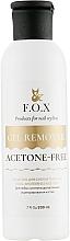 Fragrances, Perfumes, Cosmetics Acetone-Free Bio-Gel and Gel Polish Remover - F.O.X Gel Remover Acetone-Free