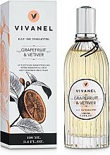 Vivian Gray Vivanel Grapefruit & Vetiver - Eau de Toilette  — photo N1