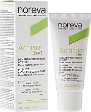 Fragrances, Perfumes, Cosmetics Problem Skin Treatment 3 in 1 - Noreva Actipur Intensive Anti-Imperfection Care 3in1
