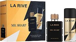 Fragrances, Perfumes, Cosmetics La Rive Mr. Sharp - Set (edt/100ml + deo/150ml)