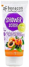 Fragrances, Perfumes, Cosmetics Shower Scrub - Benecos Natural Care Apricot & Elderberry Shower Scrub