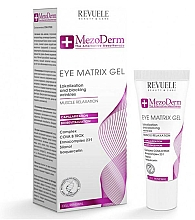 Fragrances, Perfumes, Cosmetics Eye Contour Gel - Revuele Mezoderm Eye Matrix Gel Eye Contour