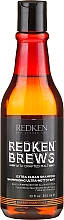 Fragrances, Perfumes, Cosmetics Men Intensive Cleansing Shampoo - Redken Brews Extra Clean Shampoo