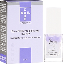 Fragrances, Perfumes, Cosmetics Bi-Phase Cuticle Remover - Peggy Sage Lavender Two-Phase Cuticle Remover