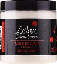 "Fragrances, Perfumes, Cosmetics Nourishing Body Butter ""Apple & Lavender"" - Zielone Laboratorium"