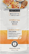 Fragrances, Perfumes, Cosmetics Face Mask - Freeman Beauty Infusion Hydrating Cream Mask Manuka Honey + Collagen (mini size)