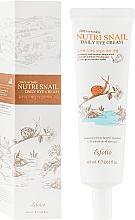 Fragrances, Perfumes, Cosmetics Snail Eye Cream - Esfolio Nutri Snail Daily Eye Cream