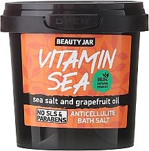 "Fragrances, Perfumes, Cosmetics Anti-Cellulite Bath Salt ""Vitamin Sea"" - Beauty Jar Anticellulite Bath Salt"