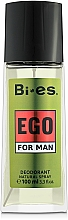 Fragrances, Perfumes, Cosmetics Bi-Es Ego - Perfumed Deodorant Spray