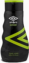 Fragrances, Perfumes, Cosmetics Shower Gel - Umbro Action Body Wash