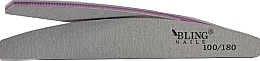 "Fragrances, Perfumes, Cosmetics Nail File ""Semicircle"", 100/180 - Bling"
