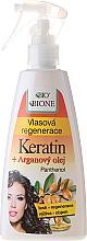 Fragrances, Perfumes, Cosmetics Regenerating Hair Spray - Bione Cosmetics Keratin + Argan Oil Hair Regeneration With Panthenol