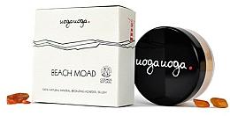 Fragrances, Perfumes, Cosmetics Natural Mineral Bronzer - Uoga Uoga Beach Moad Bronzing Powder-blush